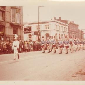 1963c. Gananaque Santa claus parad, Grenadiers
