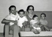 1976 before we left for Canada