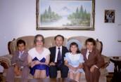 Andreas, Cleo, Evangelos, Savvas and Chrystalla