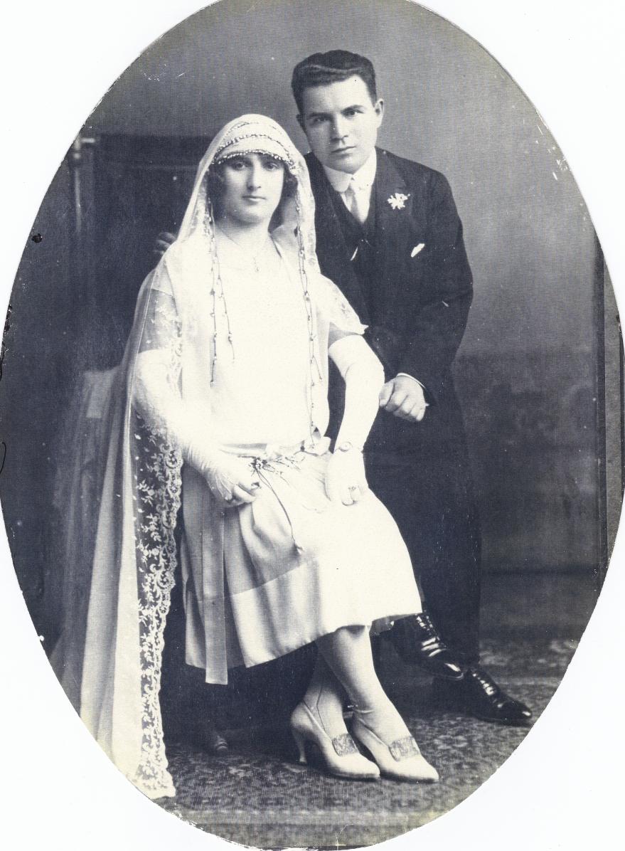Andrew S. & Chysanthy S.(Zakos)Nov. 1, 1925