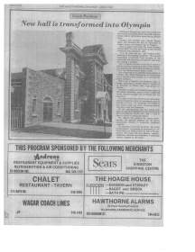 Article for opening of Church building