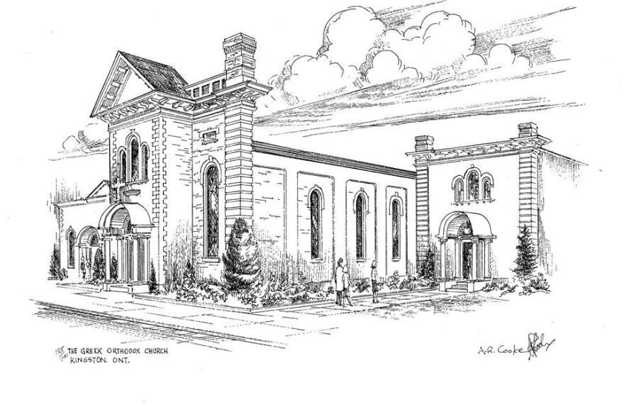 Church sketch.
