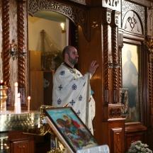 Fr. C First Liturgy Kingston
