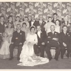Group wedding photo of George &Effie (Eleftheria)