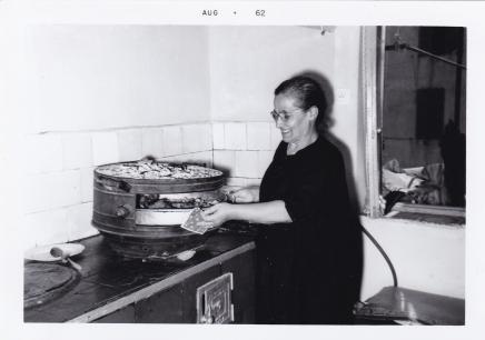 Mary Mason's mother at Thesaloniki/1962