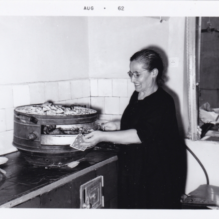 Mary Mason's mother at Thesaloniki/1962