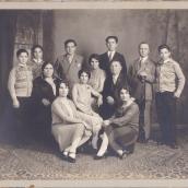 oct.26 1927 Zakos Group Photo