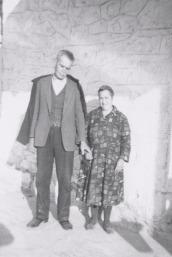 Paula's paternal grandparents (Panagioti and Polixeni Antonakos)