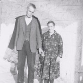 Paula's paternal grandparents (Panagioti and Polixeni Antonakos)