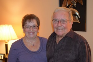 Photo of Spiro and his wife Maureen during the KGHP interview