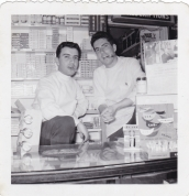 Spiro and Jim Twig - Spiro Sakell - 1956 Moffats Pharmacy - Princess and Clergy