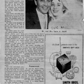 Spiro and Maureen Wedding Newspaper