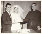 Spiro S. Maureen S. father Ramfos, Nov.3, 1962