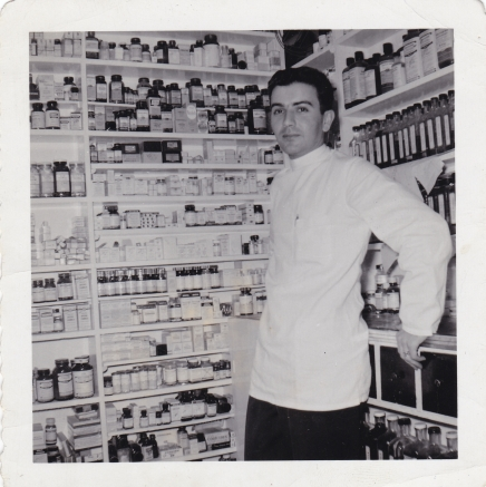 Spiro Sakell - 1956 Moffats Pharmacy - Princess and Clergy 1