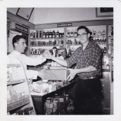 Spiro Sakell - 1956 Moffats Pharmacy - Princess and Clergy 2