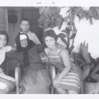 Maria Karis's grandmother (in center);