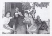 Maria Karis's grandmother (in center);
