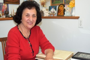 Voula at the time of the interview