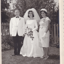 Voula & parents, Elia and Georgia Anagnostopoulos.