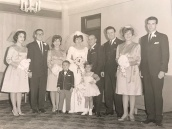 1963 Louis and Toula Wedding - at St George's - the last Greek wedding held at St. George's before the purchase of our church 1