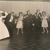 1963 Louis and Toula Wedding - at St George's - the last Greek wedding held at St. George's before the purchase of our church 10