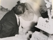 1963 Louis and Toula Wedding - at St George's - the last Greek wedding held at St. George's before the purchase of our church 2
