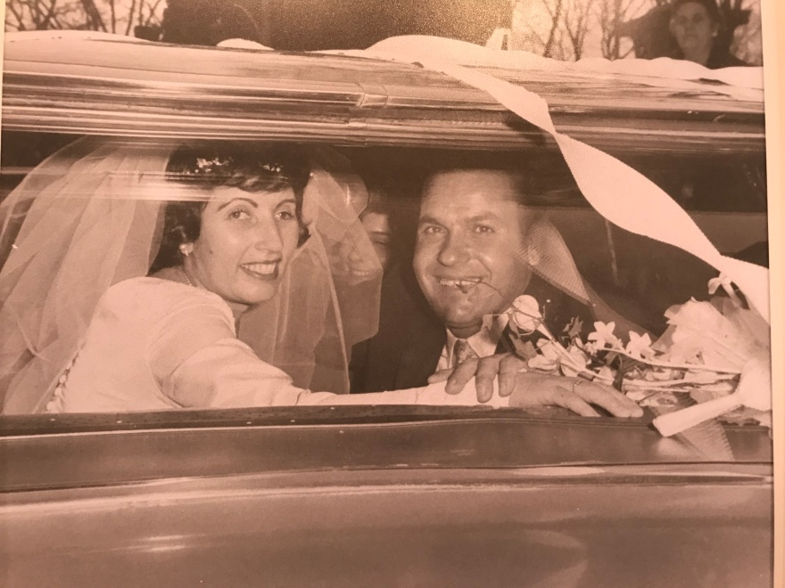 1963 Louis and Toula Wedding - at St George's - the last Greek wedding held at St. George's before the purchase of our church 4
