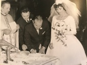 1963 Louis and Toula Wedding - at St George's - the last Greek wedding held at St. George's before the purchase of our church 6