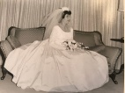 1963 Louis and Toula Wedding - at St George's - the last Greek wedding held at St. George's before the purchase of our church 7