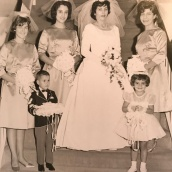 1963 Louis and Toula Wedding - at St George's - the last Greek wedding held at St. George's before the purchase of our church 8