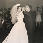 1963 Louis and Toula Wedding - at St George's - the last Greek wedding held at St. George's before the purchase of our church 9