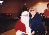 2000s, Louis as Santa Claus, which was always his role in Christmas Pageants, and Toula!