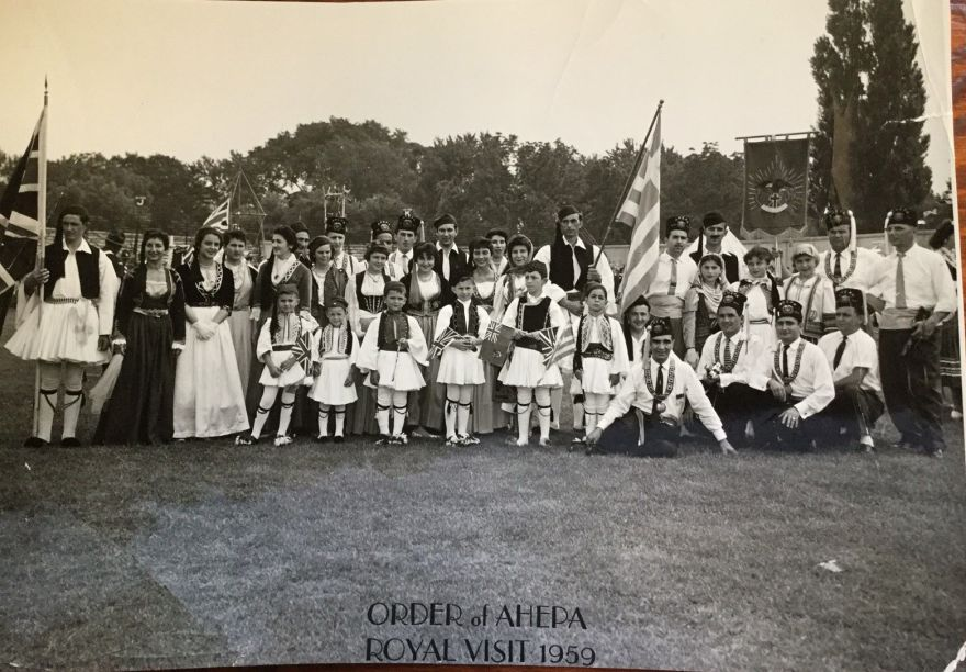 Ahepa Royal Visit 1959