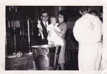 Baptism of George Katinas