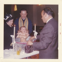 baptism of one of Maria's children