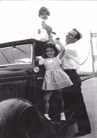 George Karis (Maria's uncle) and her first cousin, Dianne, Tom Karis's daughter