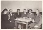 Tessie Karis; Nicholas Speal; Julia Georgiadis; Frank Karis; Mary and Mike Johnson