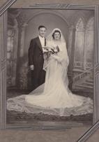 Tessie and Frank Karis wedding photo