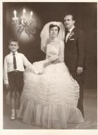 Maria marrying Pete Karkoulis in Kingston