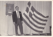 Louis at an AHEPA ceremony