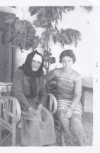 Maria and her Paternal Grandmother (Diamanto Karis), in Xylocastron, Greece