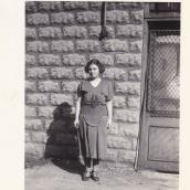 Tessie Karis (nee Condos) before marriage