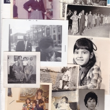 Various Leos family photos, as compiled by Louis before he passed away.