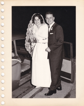 Chris and Murva Wedding 1962 at St. George's