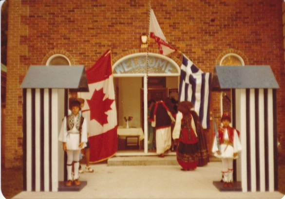 1978 Folklore outside the church