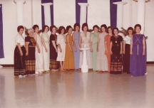 Important members of the community, most in Daughters of Penelope (Photo from Folklore 1979, donated by Murva Nikas)