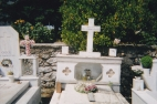 Polyvios, Chris's Father's gravestone in Thana