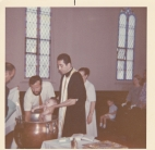Toni's Baptism in the Church, with Fr. Polychronidis 2