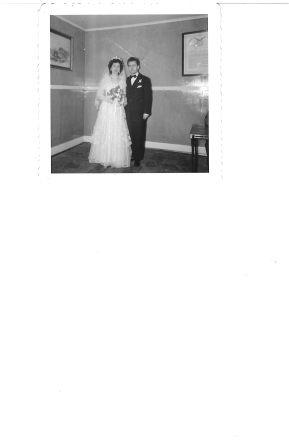 Manos & Maria Tryfonopoulos-Wedding November 1954