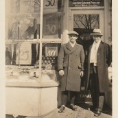 "During the 1920s and 1930s in Kingston there were several ice cream and candy stores owned by Greek Canadians. My grandfather, Emmanuel Katinas, owned a candy store in Smiths Falls around the same time. In 1920 he opened a store named ""Candy Kitchen"" and operated it for the next 15 years."